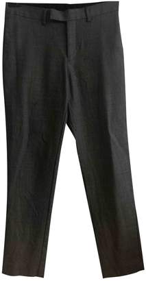 Sandro Grey Wool Trousers