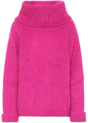 Tom Ford Ribbed-knit mohair-blend sweater
