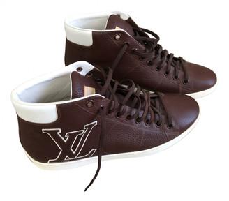Louis Vuitton Rivoli Brown Leather Trainers