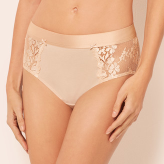 Talbots Cotton Lace Brief Panty
