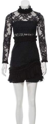 Alexis Lace-Embroidered Dress w/ Tags