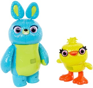Mattel Disney / Pixar Toy Story 4 Interactive True Talkers Bunny and Ducky 2-Pack