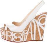 Christian Louboutin Marpop Wedge Sandals