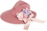 Gucci Asymmetrical fedora hat