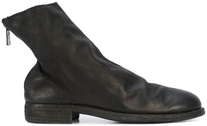Guidi slouchy ankle boots