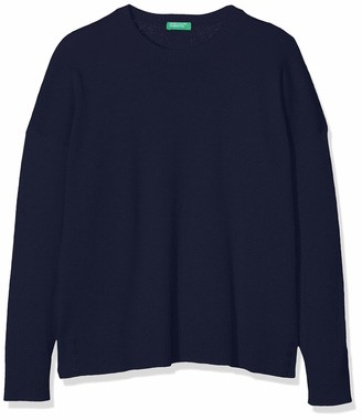 Benetton Girl's Basic G3 Long Sleeve Top