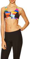 Trina Turk Digitized Cross Back Sports Bra
