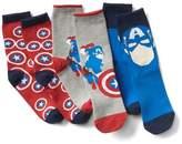 Gap GapKids | Marvel© superhero crew socks (3-pack)