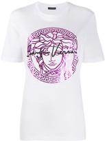 Versace Medusa head print T-shirt