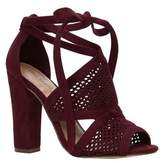 Call it SPRING Womens Rounkles Peep Toe Special Occasion Ankle Strap Sandals.