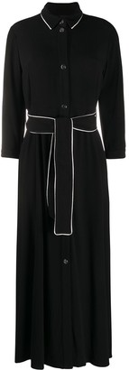 Pinko Contrast Trim Shirt Dress