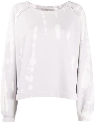 AllSaints Long-Sleeved Tie-Dye Print Sweater