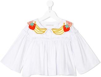 Raspberry Plum Charlotte blouse