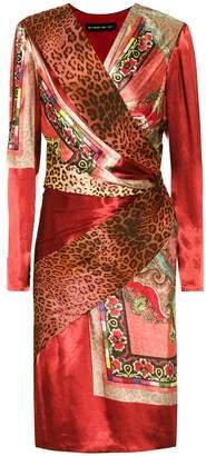 Etro Printed silk-blend dress