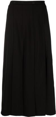 Markus Lupfer Sasha embroidered-lip skirt