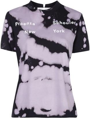 Proenza Schouler White Label tie-dye print T-shirt