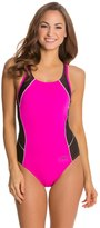 Speedo Fitness Mesh Contrast Thick Strap One Piece 8121920