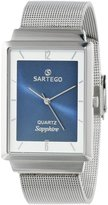 Sartego Men's SVS735 Seville Japanese Quartz Movement Watch