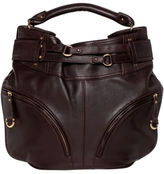 SM Luxe Harness Leather Hobo