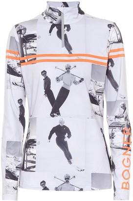 Bogner Beline printed high-neck sweatshirt