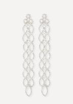 Bebe Crystal Statement Earrings