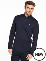 Ted Baker L/s Textured Polo Shirt
