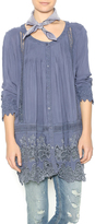 Monoreno Embroidered Flutter Tunic