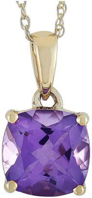 Non Branded Lb Exclusive 14K Amethyst Necklace