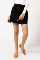 Azalea Suede High Waist Skirt