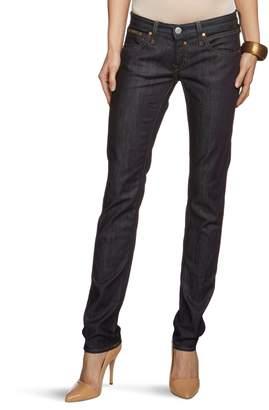 Herrlicher Women's Skinny Fit Jeans - Blue - Blau (raw 026032) - 29/32 (Brand size: 29/32)