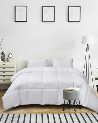 Kathy Ireland Ultra-Soft Nano-Touch Extra Warmth Down Fiber Comforter