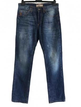 John Galliano Blue Cotton Jeans