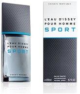 Issey Miyake Eau de Toilette Spray, Pour Homme Sport, 6.7 Ounce