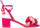 Aquazzura 'Tropicana' sandals - women - Suede/Leather - 36