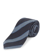 Jaeger Silk College Stripe Tie