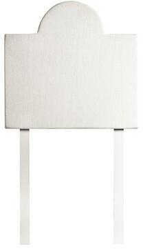 Solis Square Semi-Circle DIY Twin Upholstered Panel Headboard Harriet Bee
