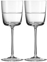 Vera Wang Wedgwood Bande Wine Glass, Set of 2