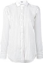 Brunello Cucinelli striped shirt - women - Silk/Cotton/Polyamide/Spandex/Elastane - S