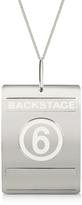 MM6 Maison Martin Margiela Backstage Pass Necklace