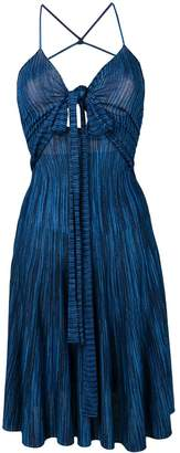 Jacquemus melange knit sleeveless dress