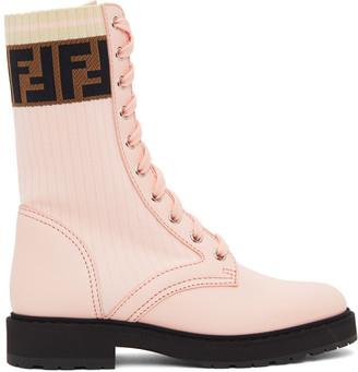 Fendi Pink Forever Rockoko Boots