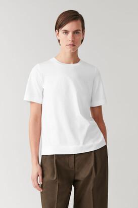 Cos Regular-Fit Organic-Cotton T-Shirt