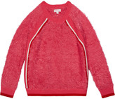 Design History Girls Girl's Eyelash Fringe Sweater, Size S-XL