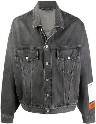 Heron Preston Long-Sleeve Denim Jacket