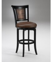 "Hillsdale Cecily Bar & Counter Swivel Stool Furniture Seat Height: Bar Stool (30.5"" Seat Height)"