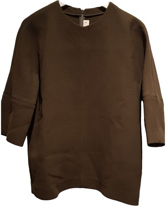 Marni Khaki Wool Tops