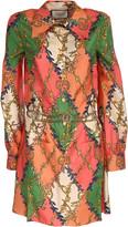 Gucci silk twill dress