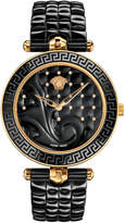Versace 40mm Vanitas Black Ceramic Watch w/ Diamonds