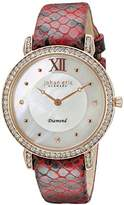 Johan Eric Women's JE7000-09-009.14 Ribe Analog Display Quartz Red Watch