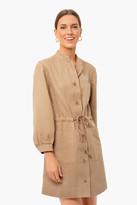 Apiece Apart Camel Nueva Aragon Mini Dress